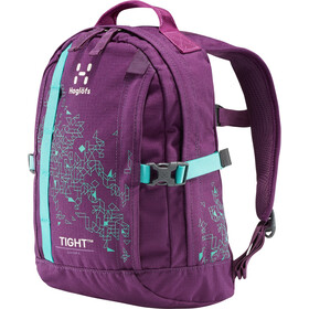 Haglöfs Tight Junior 8 Backpack Barn purple crush/crystal lake